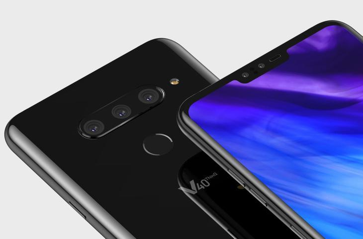 LG V40 ThinQ با پنج دوربین عرضه خواهد شد