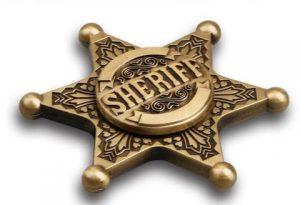 فیجت اسپینر نشان کلانتر Sheriff