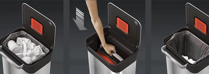 سطل زباله تیتان